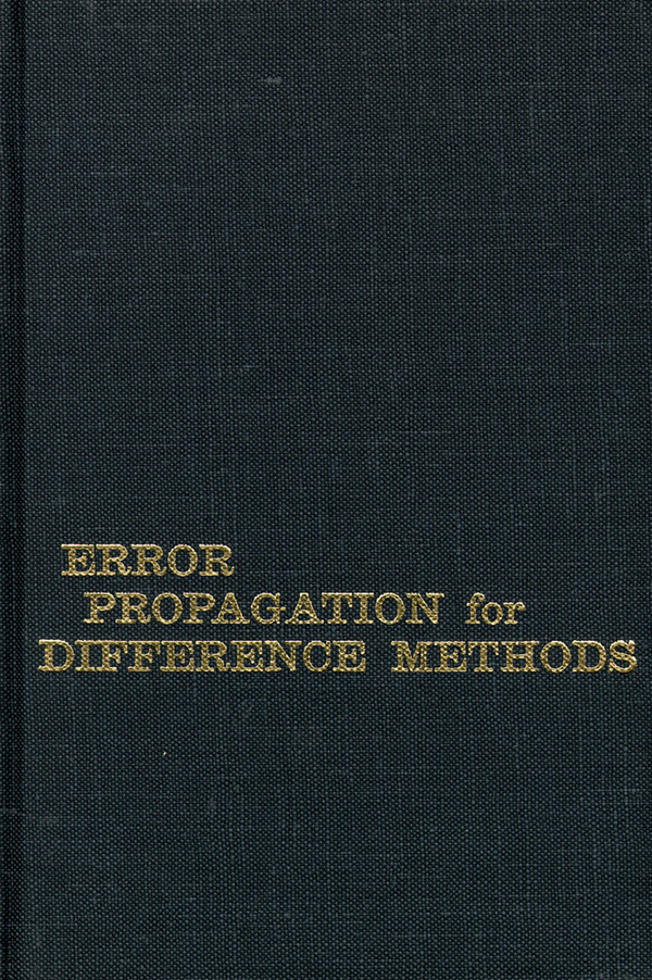 Error Propagation for Difference Methods. Peter Henrici.