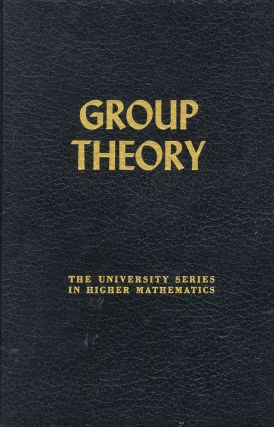 GROUP THEORY. Schenkman.