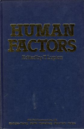 Human Factors: Man, Machine and New Technology. T. Lupton