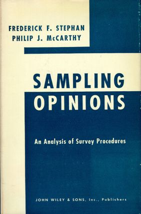Sampling Opinions: An Analysis of Survey Procedure